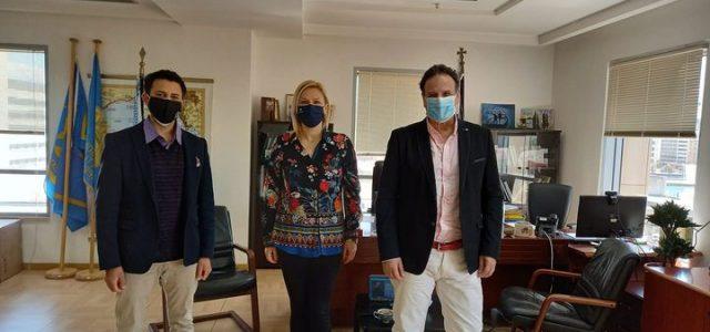 Ο Αντιδήμαρχος Πολιτισμού Παντελής Διολέτης επισκέφτηκε την Αντιπεριφέρεια
