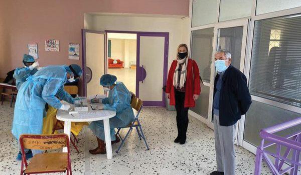 Rapid tests από την Αντιπεριφέρεια στη Σαλαμίνα