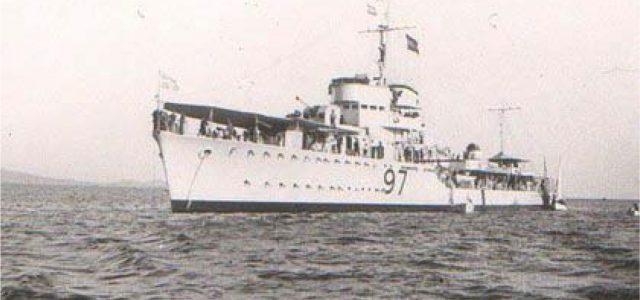 Το χρονικό της βύθισης της ΥΔΡΑΣ – 22 Απριλίου 1941