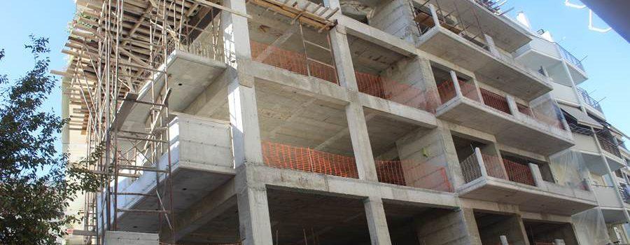 Αύξηση 21,7% σημειώθηκε στον όγκο της ιδιωτικής οικοδομικής δραστηριότητας τον Φεβρουάριο εφέτος, σύμφωνα με την ΕΛΣΤΑΤ