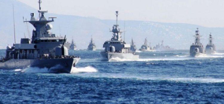 Επιχειρησιακή εκπαίδευση του Πολεμικού Ναυτικού σε Αιγαίο και Μυρτώο Πέλαγος
