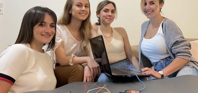 «Μαγικό» χαλί γυμναστικής για το σαλόνι σχεδίασαν τέσσερις φοιτήτριες
