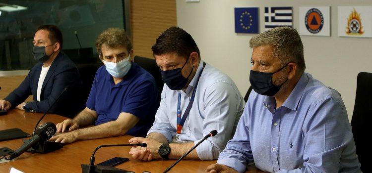 Με τη συμμετοχή του Περιφερειάρχη Αττικής Γ. Πατούλη η διευρυμένη σύσκεψη στο Κέντρο Επιχειρήσεων της Πολιτικής Προστασίας
