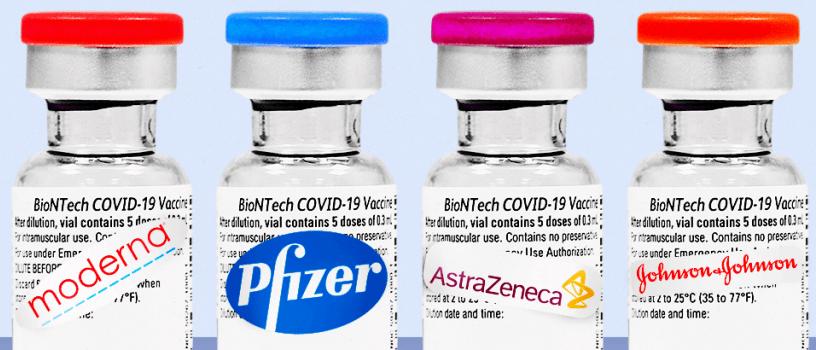Ανοίγει η πλατφόρμα των ραντεβού της ηλικιακής ομάδας 40-44 ετών και για τα 4 διαθέσιμα εμβόλια κατά της covid-19