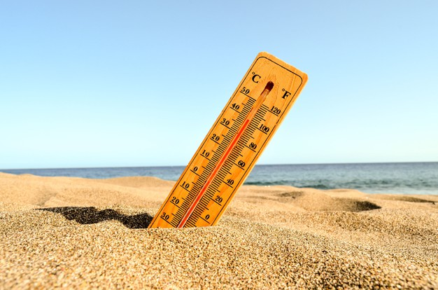 Άγγιξε τους 33 βαθμούς το θερμόμετρο σήμερα στη Σαλαμίνα