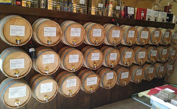 Λευκό Βιολογικό κρασί Τυρνάβου