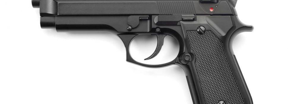 Περίστροφο πυροβόλο όπλο, εντοπίστηκε σε παραλία της Σαλαμίνας, σε απόσταση 1,5 μέτρου από την ακτή.