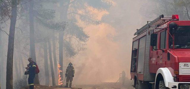 Με εντολή του Περιφερειάρχη Αττικής Γ. Πατούλη άμεση η ανταπόκριση της Περιφέρειας στην προσπάθεια κατάσβεσης της φωτιάς που έφτασε στο Αλεποχώρι, από το Σχίνο Κορινθίας