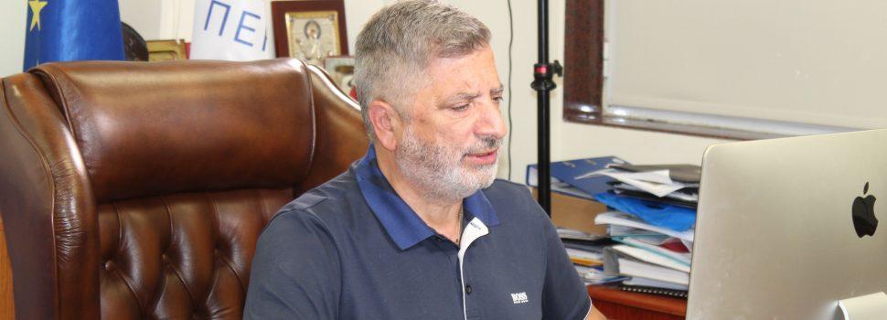 Τοποθέτηση του Α' Αντιπροέδρου της ΕΝΠΕ και Περιφερειάρχη Αττικής Γ. Πατούλη στην αρμόδια Επιτροπή της Βουλής επί του σχεδίου νόμου του Υπουργείου Εσωτερικών με τίτλο «Εκλογή Δημοτικών και Περιφερειακών Αρχών»