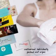 Διαφημιστικά αρωματικά / αντισηπτικά μαντηλάκια