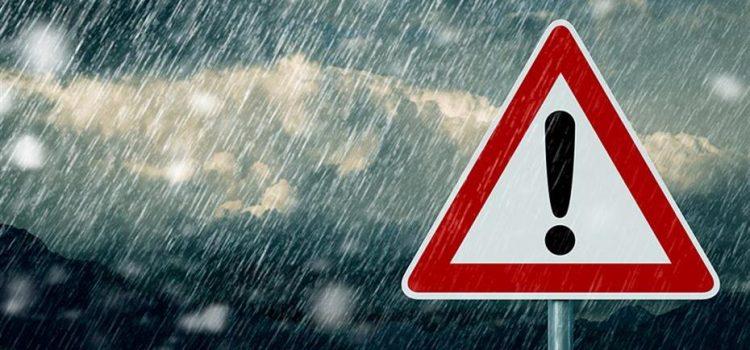 Συστάσεις της ΓΓΠΠ προς τους πολίτες, ενόψει της επιδείνωσης του καιρού