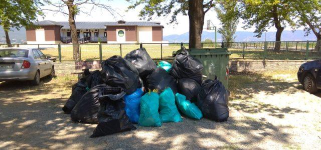 Λίμνη Δοϊράνη: Εθελοντές απομάκρυναν περί τα 6.000 λίτρα σκουπιδιών