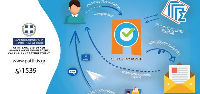 Η Περιφέρεια Αττικής με στόχο την άμεση και ασφαλή εξυπηρέτηση των πολιτών έχει αυξήσει στις 241 τις υπηρεσίες Ψηφιακής Εξυπηρέτησης των πολιτών