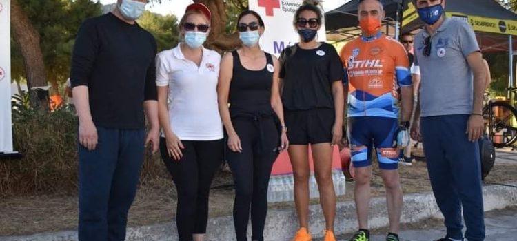 Τεράστια ανταπόκριση είχε η ποδηλατάδα που διοργάνωσε ο Δήμος Σαλαμίνας στην Παγκόσμια Ημέρα Ποδηλάτου