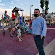 Η νέα παιδική χαρά στο πάρκο των Παλουκίων  παραδόθηκε το Σάββατο 12 Ιουνίου από τον Δήμο Σαλαμίνας