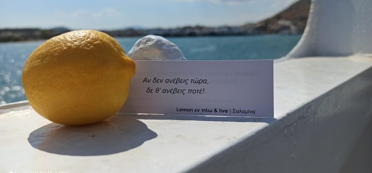Τι συμβαίνει με τα λεμόνια στη Σαλαμίνα;