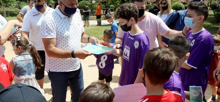 Θερμή συμμετοχή των παιδιών στη Δράση της Περιφέρειας Αττικής και του ΕΔΣΝΑ «Το Περιβάλλον Ανήκει στα Παιδιά» στο Πεδίο του Άρεως με αφορμή τη σημερινή Παγκόσμια Ημέρα Περιβάλλοντος