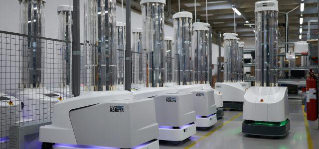 Εκατό ρομπότ απολύμανσης από τον κορονοϊό, έχουν ήδη παραδοθεί από την ΕΕ σε ευρωπαϊκά νοσοκομεία