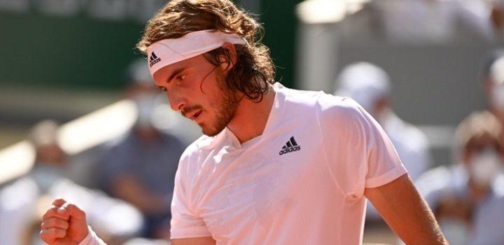 Ο Στέφανος Τσιτσιπάς κατάφερε να πάρει το «εισιτήριο» για τον μεγάλο τελικό του Roland Garros