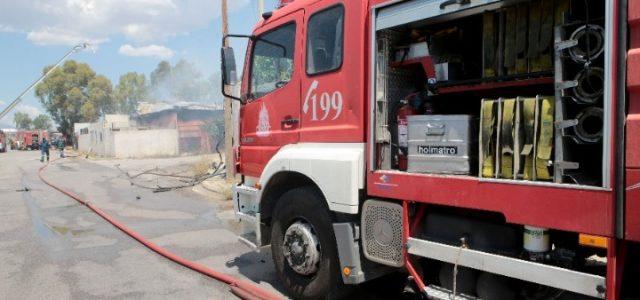 Υπό έλεγχο η πυρκαγιά σε βυτιοφόρο με προπάνιο στον Ασπρόπυργο