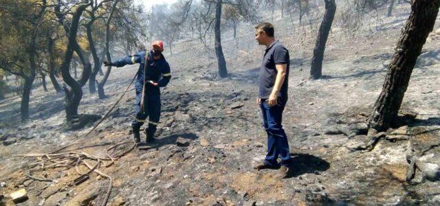 Υπό πλήρη έλεγχο η πυρκαγιά στον Αγ.Νικόλα
