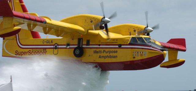 Με δύο αεροσκάφη Canadair CL-415 συνδράμει η Ελλάδα στην αντιμετώπιση μεγάλης πυρκαγιάς που έχει ξεσπάσει στην Κύπρο