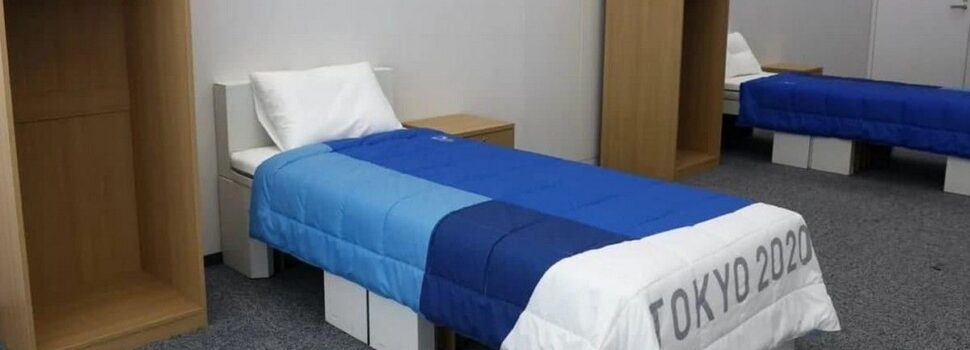 Τα κρεβάτια από χαρτόνι στο Ολυμπιακό Χωριό αποτρέπουν το σεξ