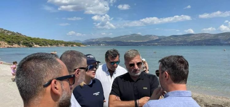 ΕΔΣΝΑ σε συνεργασία με το «Όλοι Μαζί Μπορούμε» καθάρισαν σήμερα τις παραλίες των νησιών του Αργοσαρωνικού