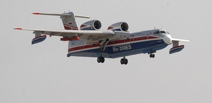 Rostec: Αναλαμβάνει πυροσβεστικό έργο στην Ελλάδα το αμφίβιο αεροσκάφος Beriev-200