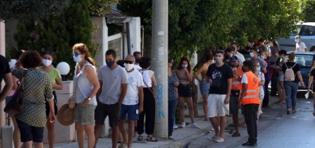 Κορονοϊός-Ελλάδα: 2.794 νέα κρούσματα, 6 θάνατοι, 132 διασωληνωμένοι- 9 κρούσματα στην ΠΕ Νήσων