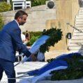 Ο Δήμος Σαλαμίνας καταθέτει στεφάνι στο μνημείο του Αγνώστου Στρατιώτη στο Σύνταγμα – Σαλαμίνια 2021